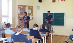 Studenci AIESEC z wizytą w naszej szkole
