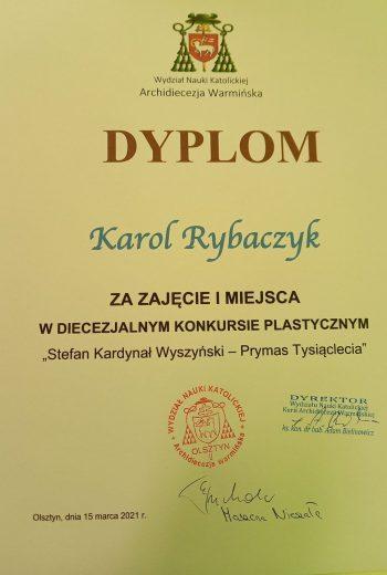 Dyplom Karola
